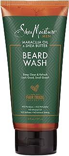 Shea Moisture Maracuja Oil & Shea Butter Beard Wash, 177ml