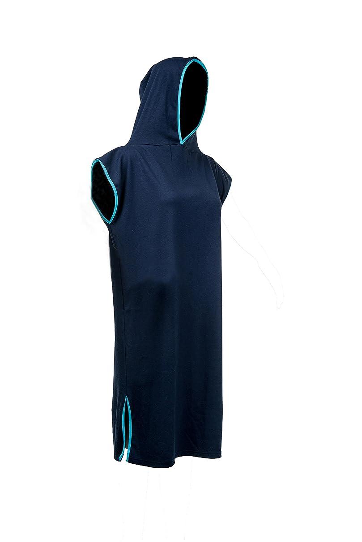 Tuuli Beach Surf Poncho 100% Cotton Changing Towel with Hood Light-Weight Adults Men Women Kids