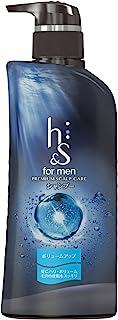 エイチアンドエス フォーメン(h&s for men) 薬用シャンプー ボリュームアップ プレミアムスカルプケア 本体ポンプ 370ml