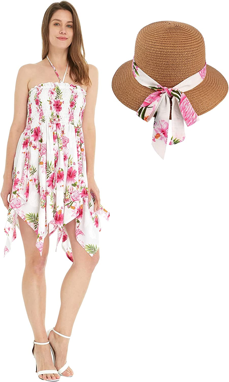 Women's Popular shop is the lowest price challenge Hawaiian Gypsy Fairy Minneapolis Mall Uneven Bottom in Dress Luau Pink Hi