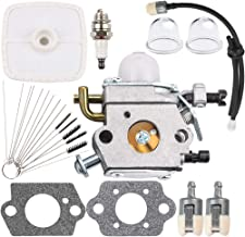 Kizut PB200 Carburetor Air Filter for Echo PB-200 PB201 ES210 ES211 C1U-K78 Carb Leaf Blower Shredder Vaccum A021000942 A021000943 Tune Up Kit Fuel Line Primer Bulb Cleaning Tool