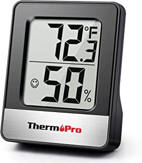 ThermoPro TP49 Digital Hygrometer Indoor Thermometer Humidity Meter Room Thermometer with Temperature and Humidity Monitor...