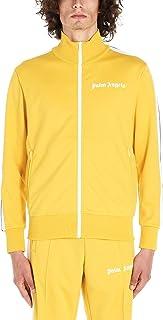 PALM ANGELS Luxury Fashion Mens PMBD001E193840026001 Yellow Sweatshirt | Season Permanent