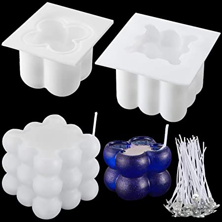 Makluce Silicone Mould,Silicone 3D box Candle Moulds Soap Moulds Baking Moulds Handmade Craft Mold For Making Candle Soap and Baking Candle contemporary high grade fit lovely heathly