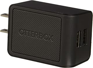 OtterBox Dual Port Wall Charger (4.8 AMP) - Retail Packaging - BLACK