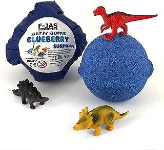 Dinosaur Surprise Toy Blueberry Bath Bomb 220g