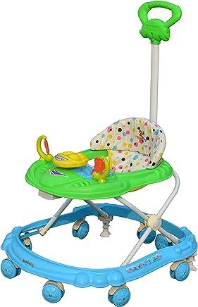 Sunbaby Hot Racer Musical Walker, Green/Blue