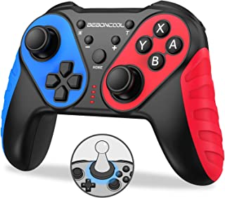 BEBONCOOL Switch Controller for Nintendo with Amibo Function,Wireless Switch Controller for Nintendo with Turbo,Motion Control,Dual Shock for Nintendo Switch Controller