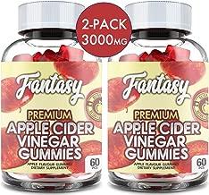 (2 Pack | 120 Gummies) Organic Apple Cider Vinegar Gummies with The Mother - Gummy Alternative to Apple Cider Vinegar Capsules, Pills, ACV Tablets