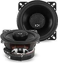 NVX 6 1/2 inch Professional Grade True 100 watt RMS 2-Way Coaxial Car Speakers [V-Series] with Silk Dome Tweeters, Set of 2 [VSP65]