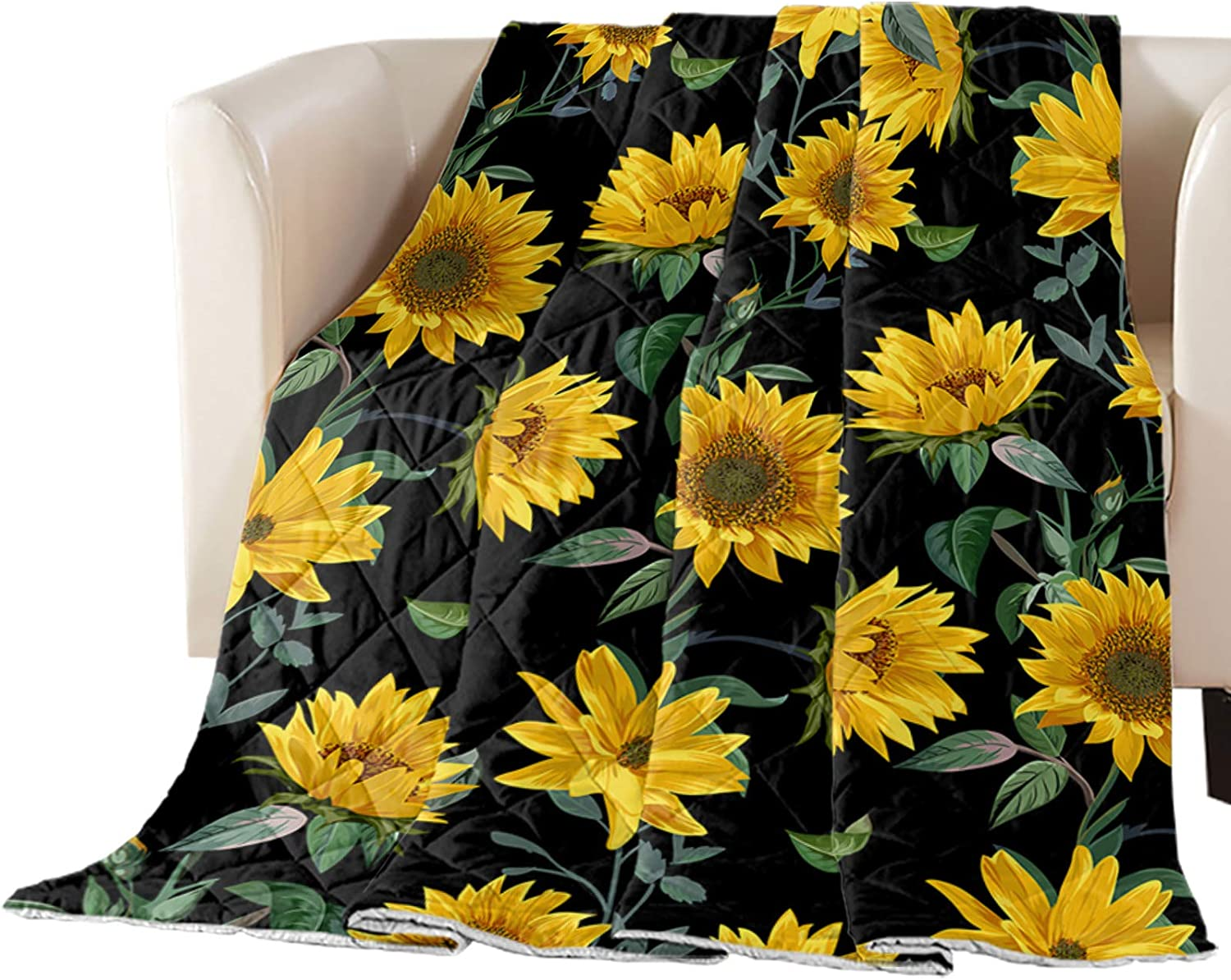 Arts Charlotte Mall Print Full Size Quilt Max 51% OFF Throw Soft Bedspread Lightweight All