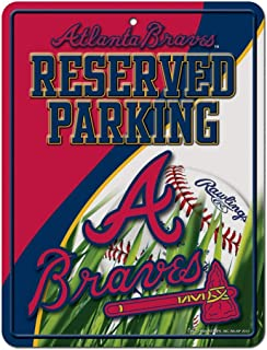 Rico MLB Hi-Res Metal Parking Sign