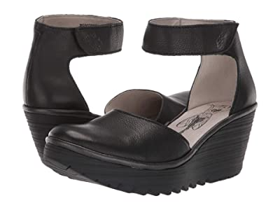 FLY LONDON Yand709Fly (Black Brito) Women