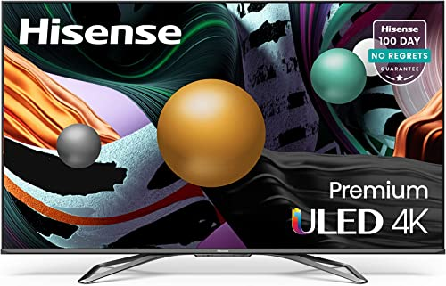 Hisense ULED Premium 65-Inch Class U8G Quantum Series Android 4K Smart TV with Alexa Compatibility (65U8G 2021 Model)