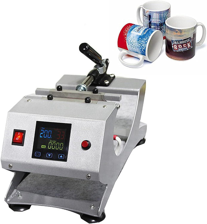 KOOWARM Máquina de Transferencia de Prensa de Calor Profesional para Taza de Bricolaje 8/11/12/17 oz,Máquina de prensado de Calor por sublimación Máquina de impresión de Calor Digital 0~200 ℃