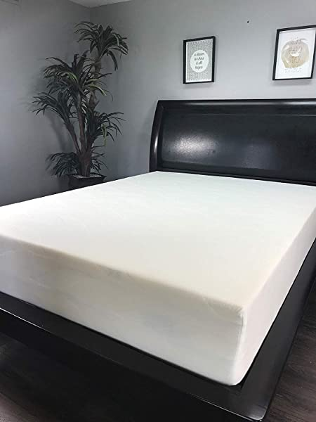 American Mattress Company 8 Graphite Infused Memory Foam Sleeps Cooler 100 Made In The USA Medium Firm Short King 72x75