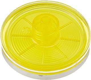 Sartorius 16555-K Minisart Filter, Cellulose Acetate, Sterile, Luer Lock Outlet, 0.45 um, 28 mm (Pack of 50)