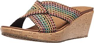 Cali Women's Beverlee Delighted Wedge Sandal