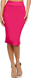 Best bright pink bodycon skirt Reviews