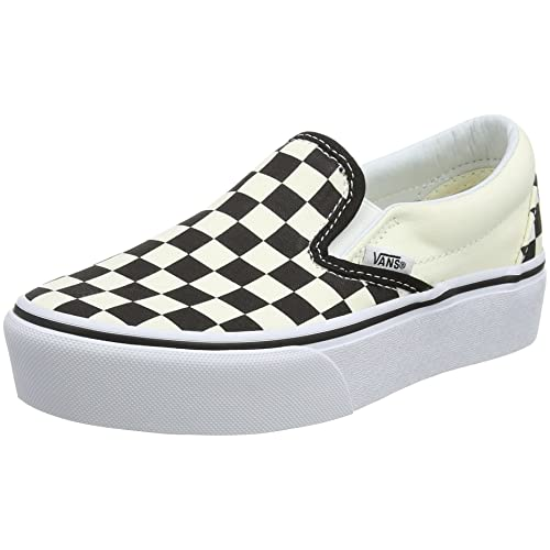 ac6149c766f0 Black and White Checkered Vans  Amazon.com
