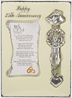 25th Wedding Anniversary Wind Chime