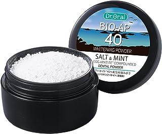 ドクターオーラル (Dr.Oral) ホワイトニングパウダー ソルト&ミント 卵殻アパタイト40% 配合歯みがき 25g