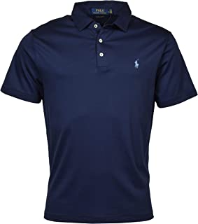 POLO RALPH LAUREN Men's Short Sleeve Custom Slim Fit Soft Touch Polo Shirt