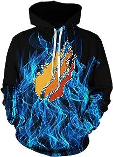 Legyany Youth Preston Fire Nation Playz Gamer Flame Hoodie Sweatshirts for Kids