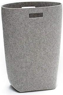 KITCHOME | 110L | Grand Panier à Linge Design avec poignées | Corbeille à linge sale étanche et pliable | Bac de rangement...