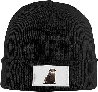 Knit Hats Beanies Hats Unisex Real Otter Black