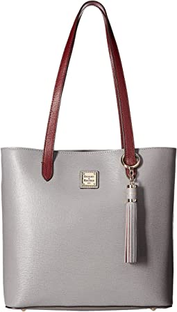 Dooney & Bourke - Saffiano Two-Tone Hadley Tote