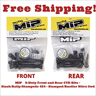 MIP X-Duty CVD Drive Kit Front and Rear Traxxas Stampede Slash Rally 4x4 18150 18140 driveshaft Upgrade