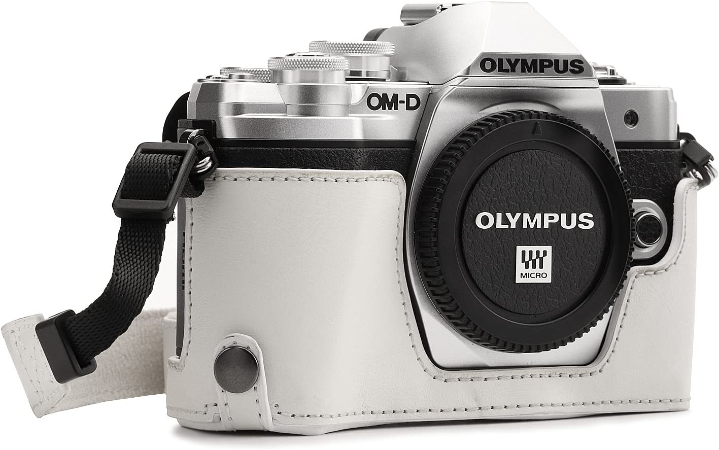 MegaGear MG1354 Olympus OM-D E-M10 Mark Leather Denver Mall Ready III All items in the store C Ever