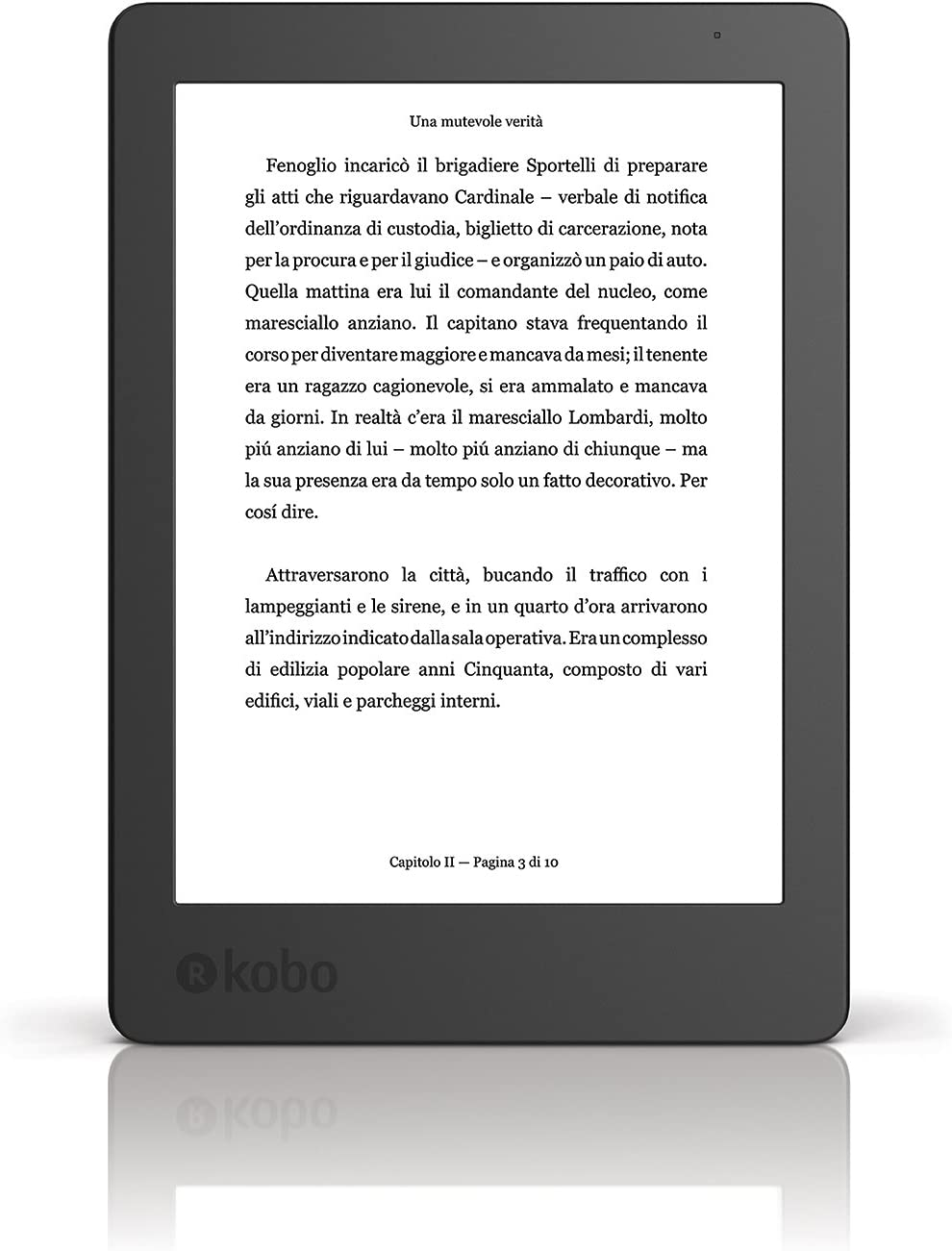 "Kobo Aura - eBook reader - 4 GB - 6""(N236-KU-BK-K-EP)"