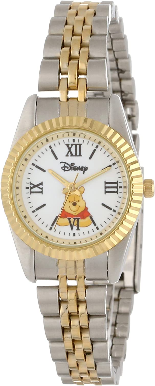 Disney New arrival Women's W000578 shop Winnie The Watch Pooh Two-Tone Status