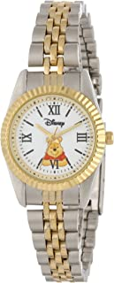 Disney Women's W000578 Winnie The Pooh Two-Tone Status Watch
