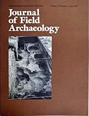 Journal of Field Archaeology Fall 1992 Vol 19 No 3