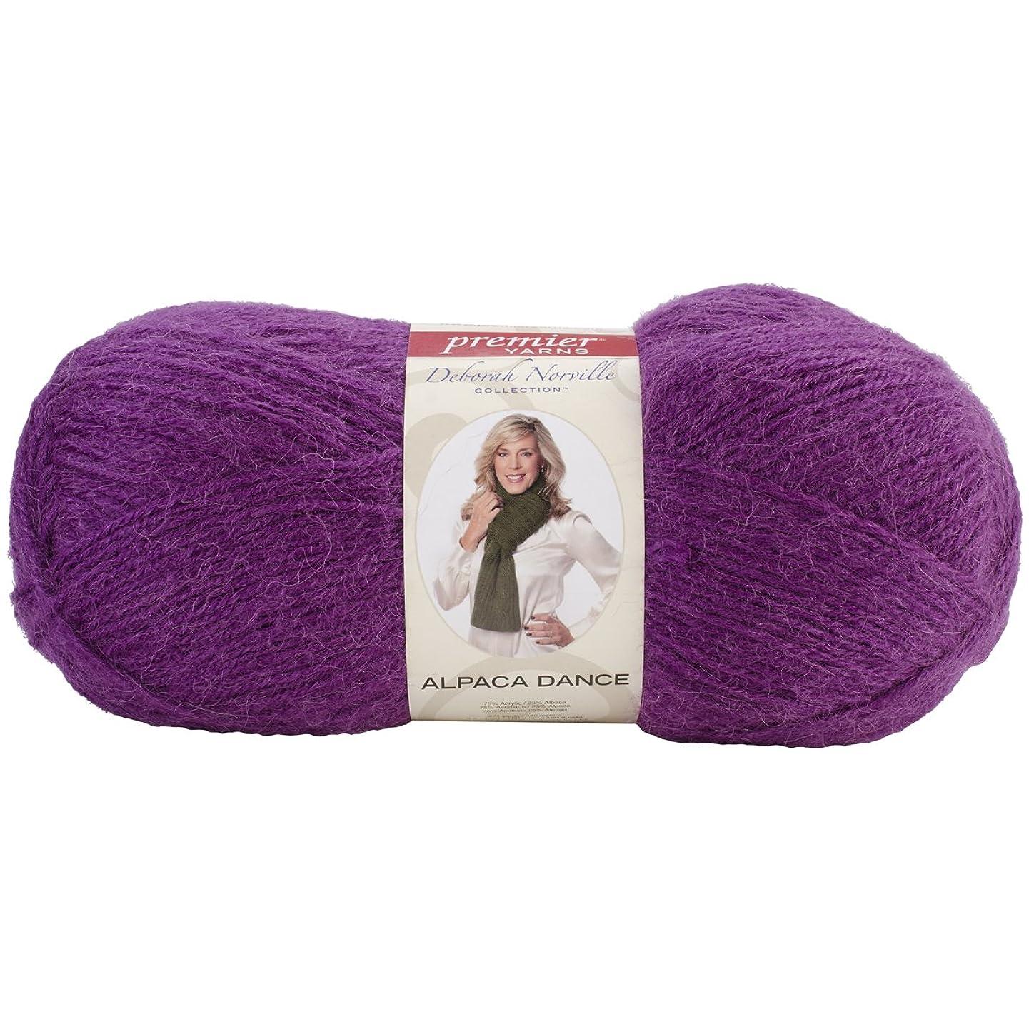 Premier Yarns Deborah Norville Collection Alpaca Dance Yarn-Grape Soda