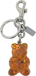 Gummy Bear Bag Charm Key Chain Orange F77683