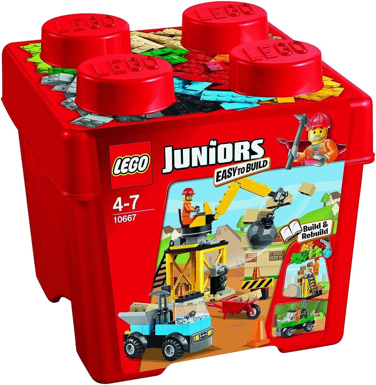 LEGO Juniors 10667 - Starter Steinebox Baustelle