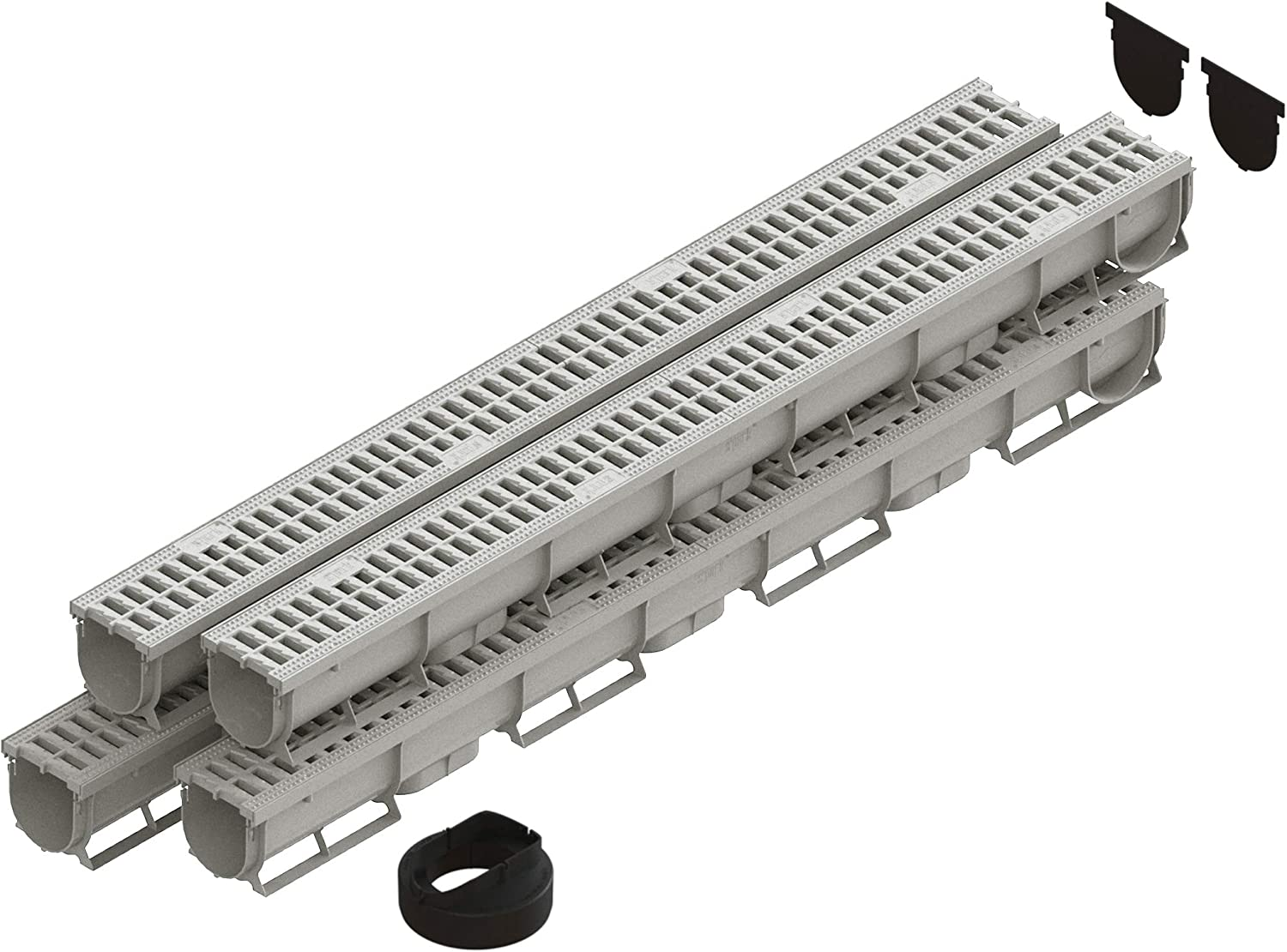 Standartpark Columbus Mall - 3 Inch Trench Drain IVORY System Ranking TOP1 4