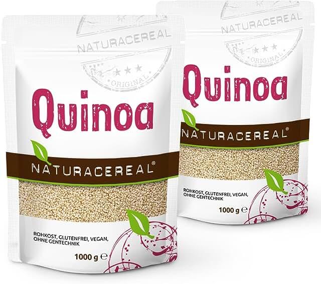 NATURACEREAL - Quinoa Blanca Premium (2 x 1kg)