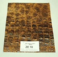 ZE89!! BOSS of the MOSS Green Croc Leather Print Various Sizes 5 by 8