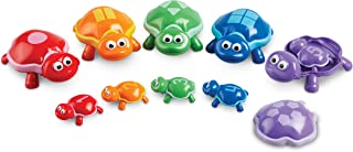 Learning Resources LER6706 Snap n Learn Number Turtles Set (15 Piece)