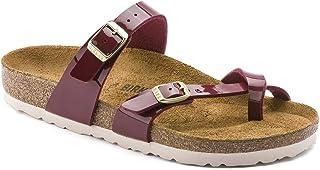 Birkenstock Unisex Mayari Birko-Flor Patent Sandals