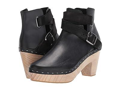 Free People Bungalow Clog Boot (Black) Women