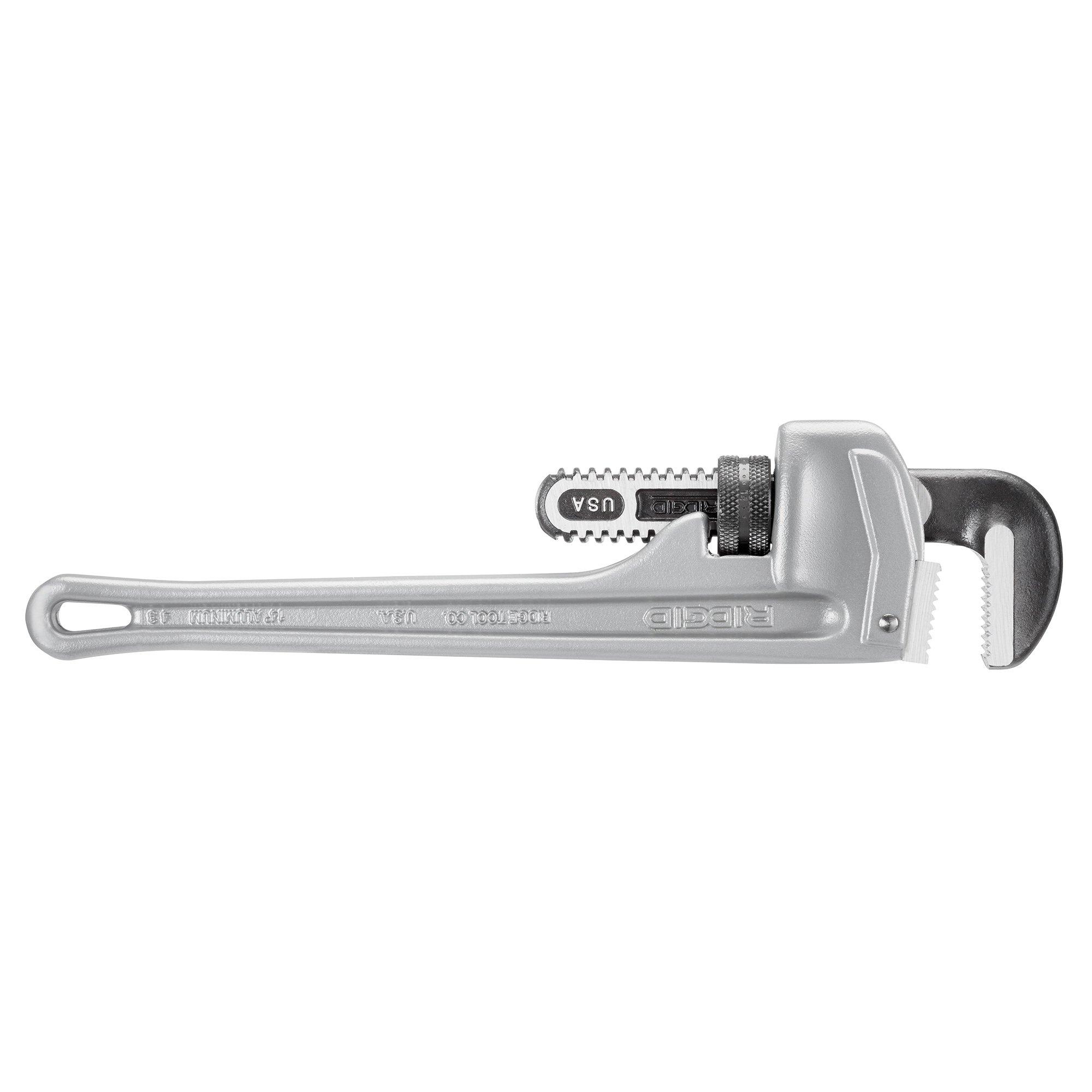RIDGID 31095 Model 814 Aluminum Straight Pipe Wrench, 14-inch Plumbing Wrench