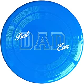 VOLTE Best Dad Ever Yellow Flying-discs 150 Grams Outdoor Activities Frisbee Star Concert Dog Pet Toys