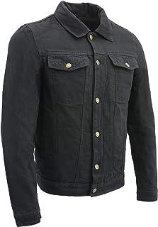 Milwaukee Performance_メンズ クラシック ジーンズ ポケット デニムジャケット 内側にガンポケット付き X-Large ブラック BOS11015_BLACK_XL