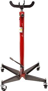 Arbeitsh/öhe 88-180 cm, 4 Lenkrollen, Verstellbare Halteplatte, stufenlos H/öhenverstellbar, 2-stufiger Hydraulikzylinder Eberth 500kg Hydraulischer Getriebeheber Kurze Ausf/ührung